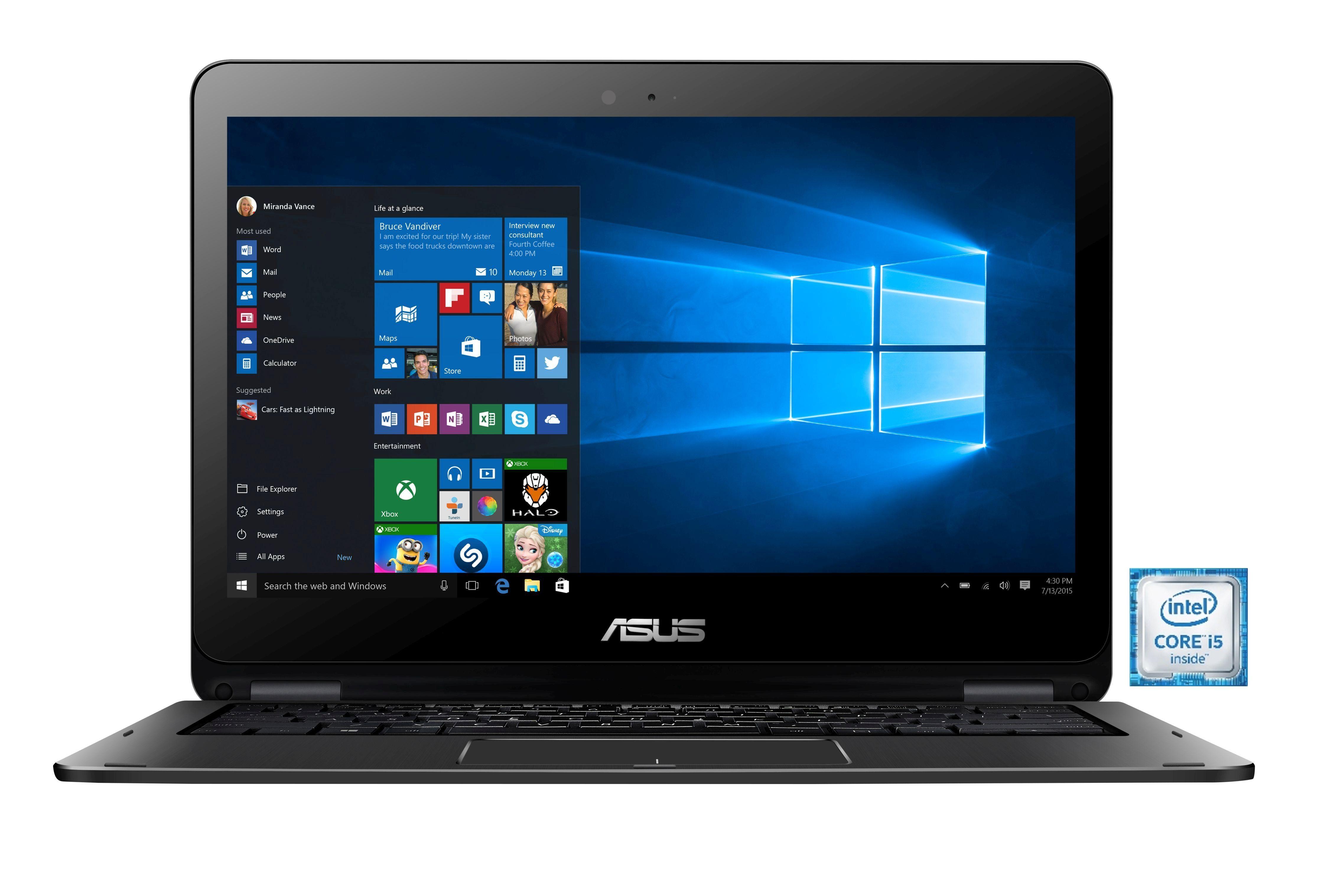 "ASUS TP301UA-DW050T Notebook »Intel Core i5, 33,7cm (13,3"") 128GB SSD, 8 GB«"