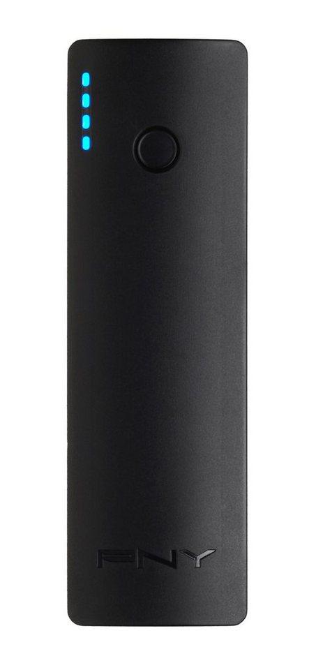 PNY mobiler Akku »PowerPack Curve 2600« in schwarz