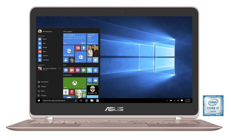 "ASUS UX360UA-C4160T Notebook »Intel Core i7, 33,7cm (13,3""), 512 GB SSD, 8 GB« in gold"
