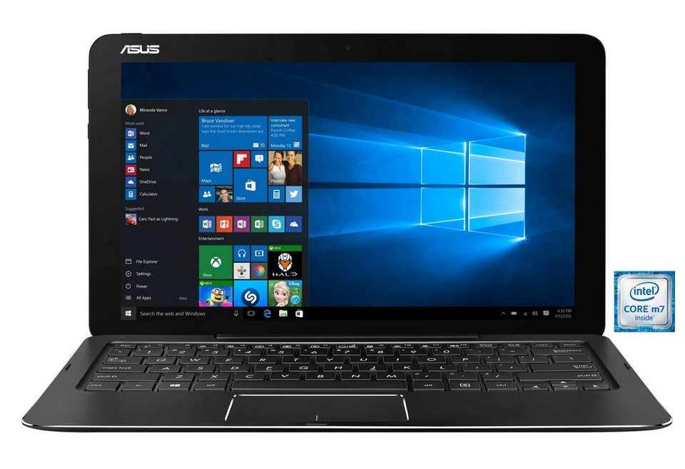 "ASUS T302CA-FL013T Notebook »Intel Core m7, 31,7cm (12,5""), 256 GB SSD, 8 GB« in schwarz"