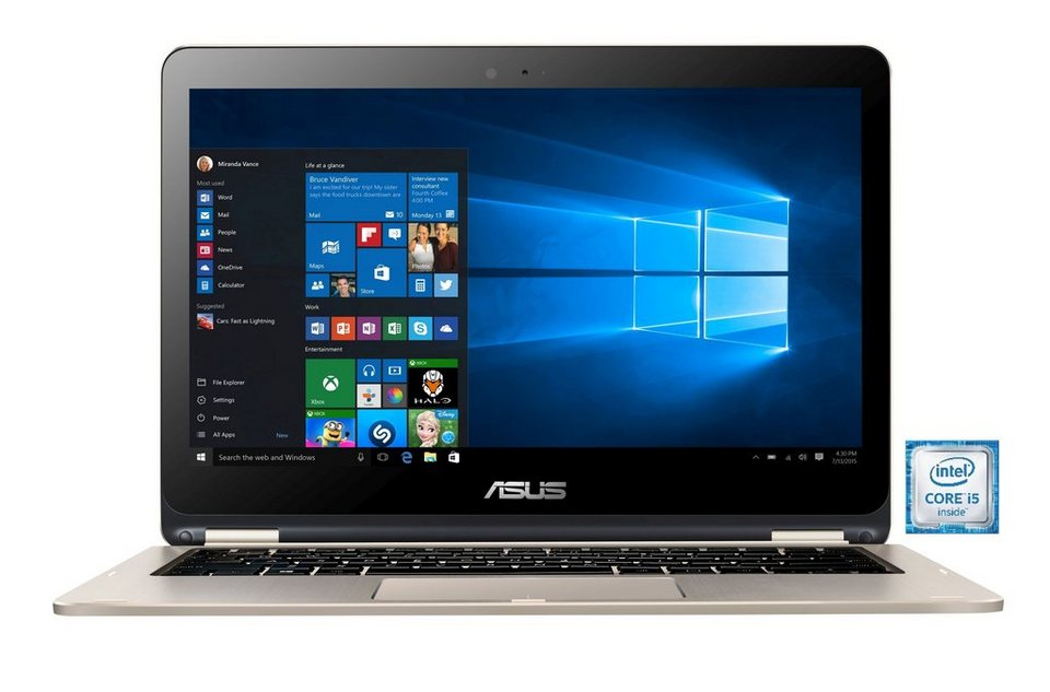 "ASUS TP301UJ-C4021T Notebook »Intel Core i5, 33,7cm (13,3""), 256 GB SSD, 8 GB« in gold"