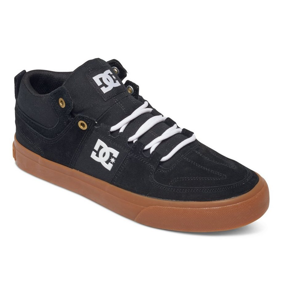 DC Shoes Schuhe »Lynx Vulc Mid« in Black/white/gum