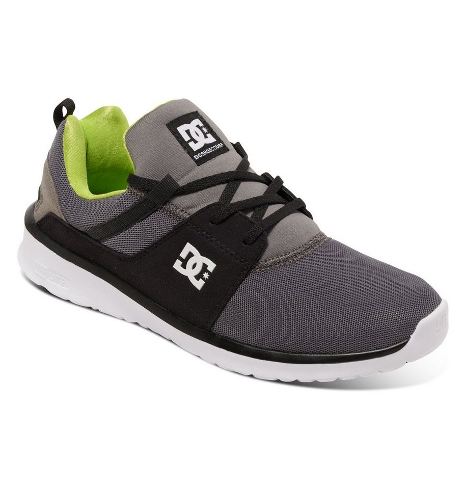 DC Shoes Low top »Heathrow« in Grey/black/green