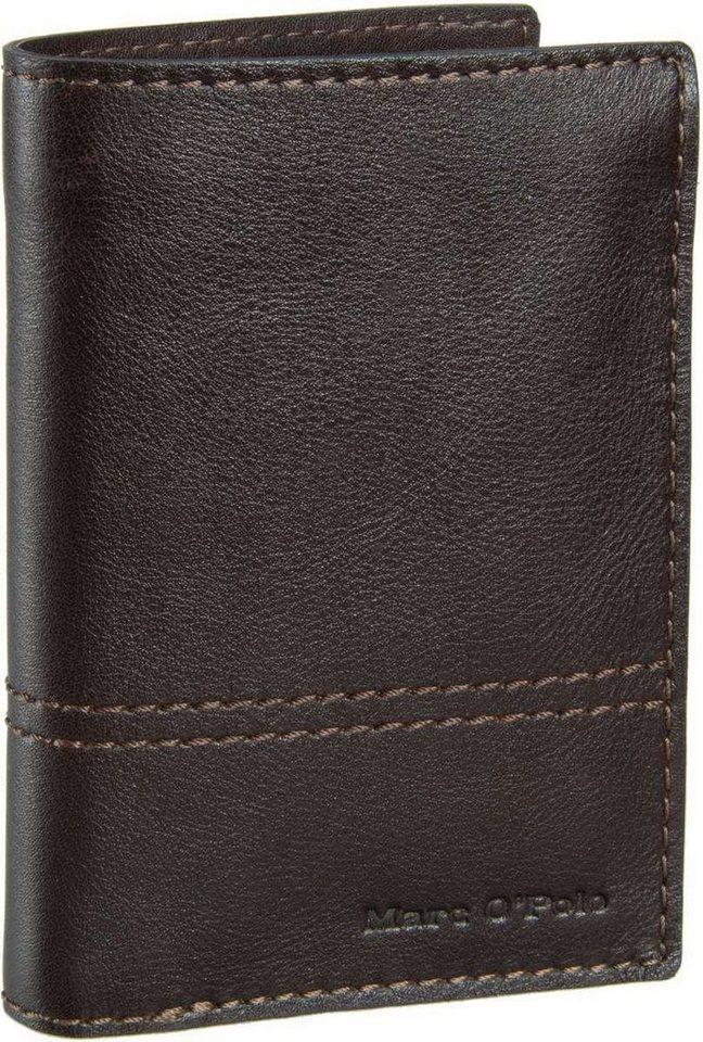 Marc O'Polo Combi Wallet L Casual Men in Dark Brown