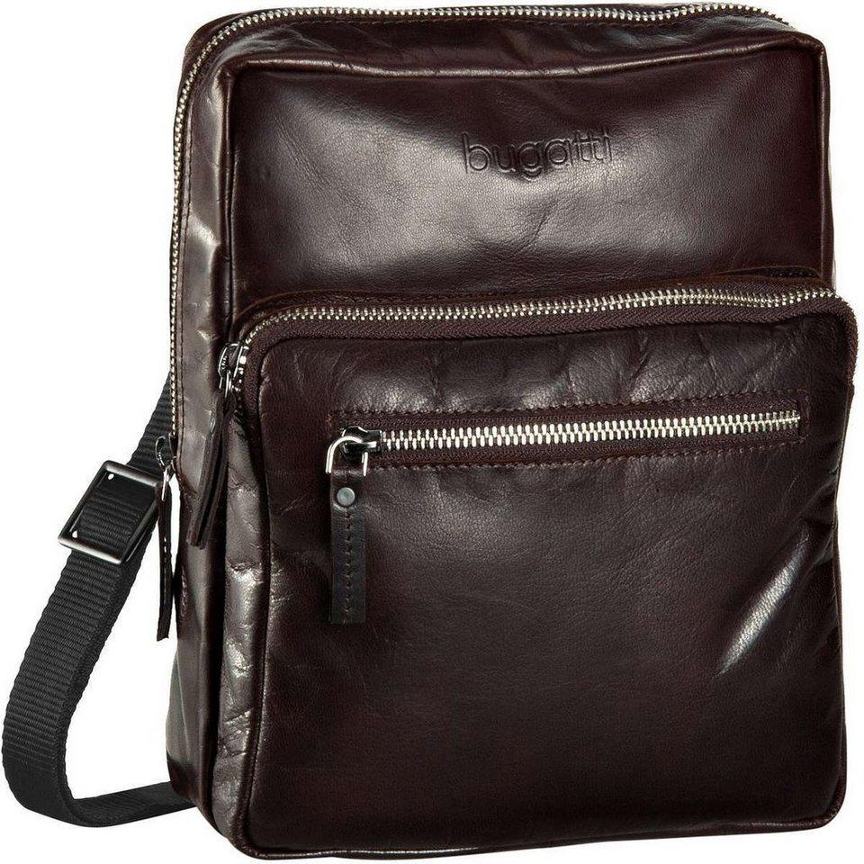 Bugatti Vita Shoulder Bag Large in Braun