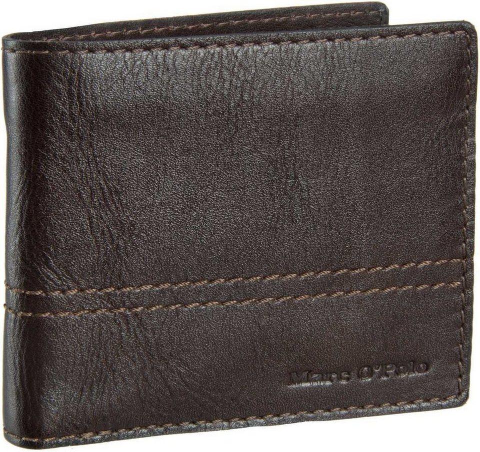 Marc O'Polo Combi Wallet M Casual Men in Dark Brown