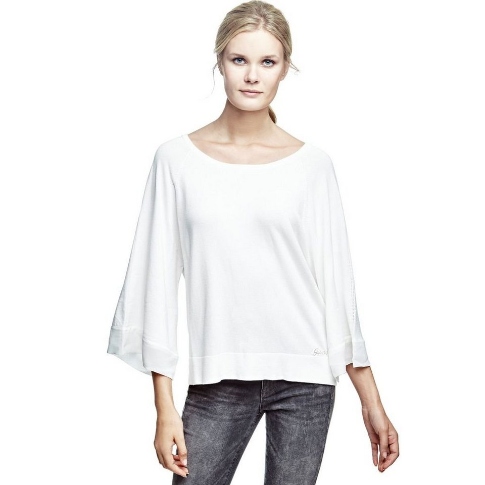 Guess CAPE-PULLOVER in Weiß