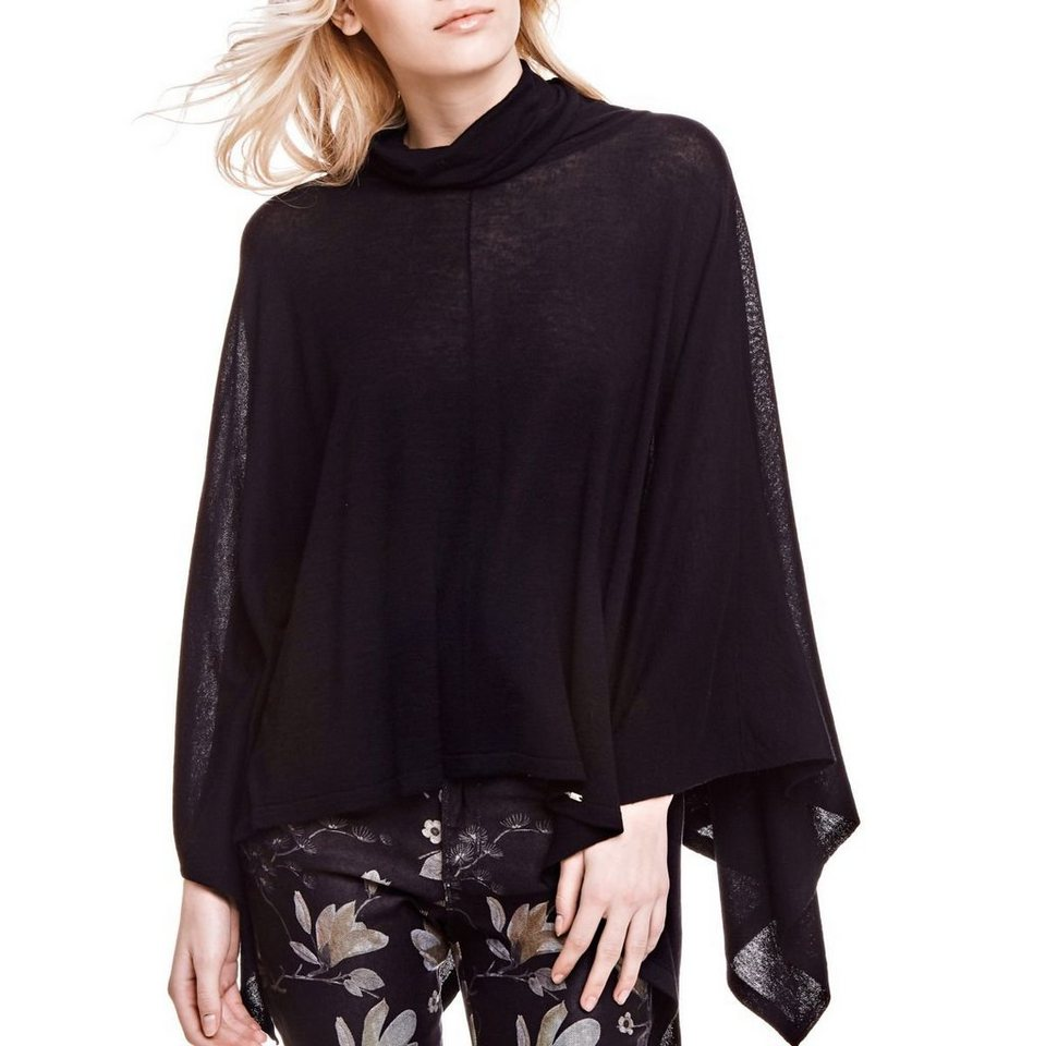 Guess PONCHO-PULLOVER in Schwarz