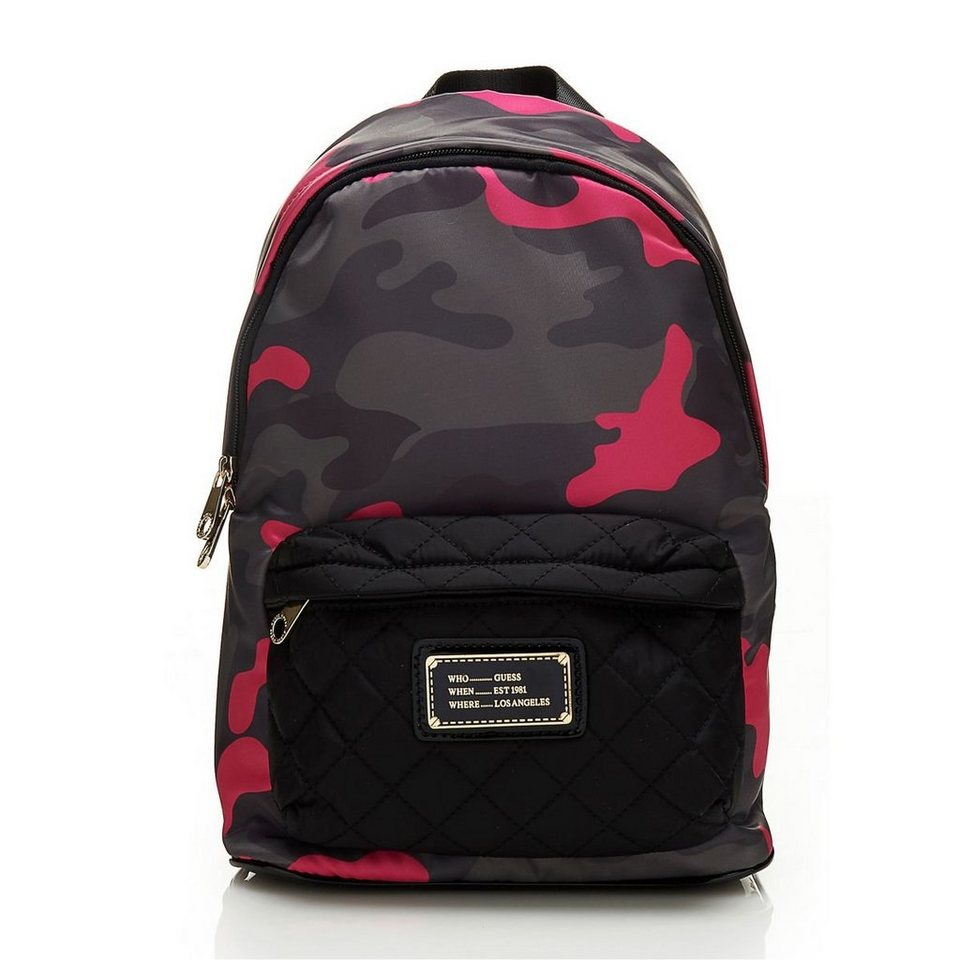 Guess RUCKSACK FLORENCIA CAMOUFLAGE in Gemustert Multicolor
