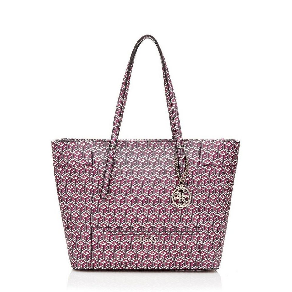 Guess SHOPPER DELANEY LOGO in Bordeaux