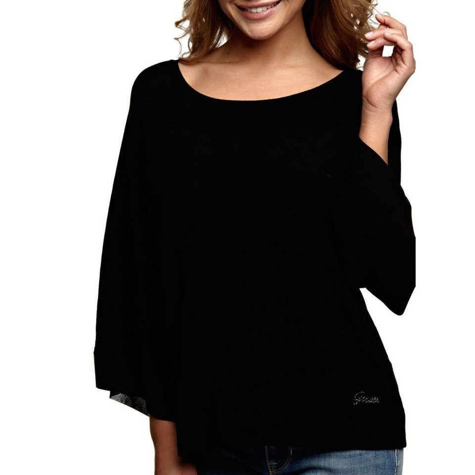 Guess CAPE-PULLOVER in Schwarz