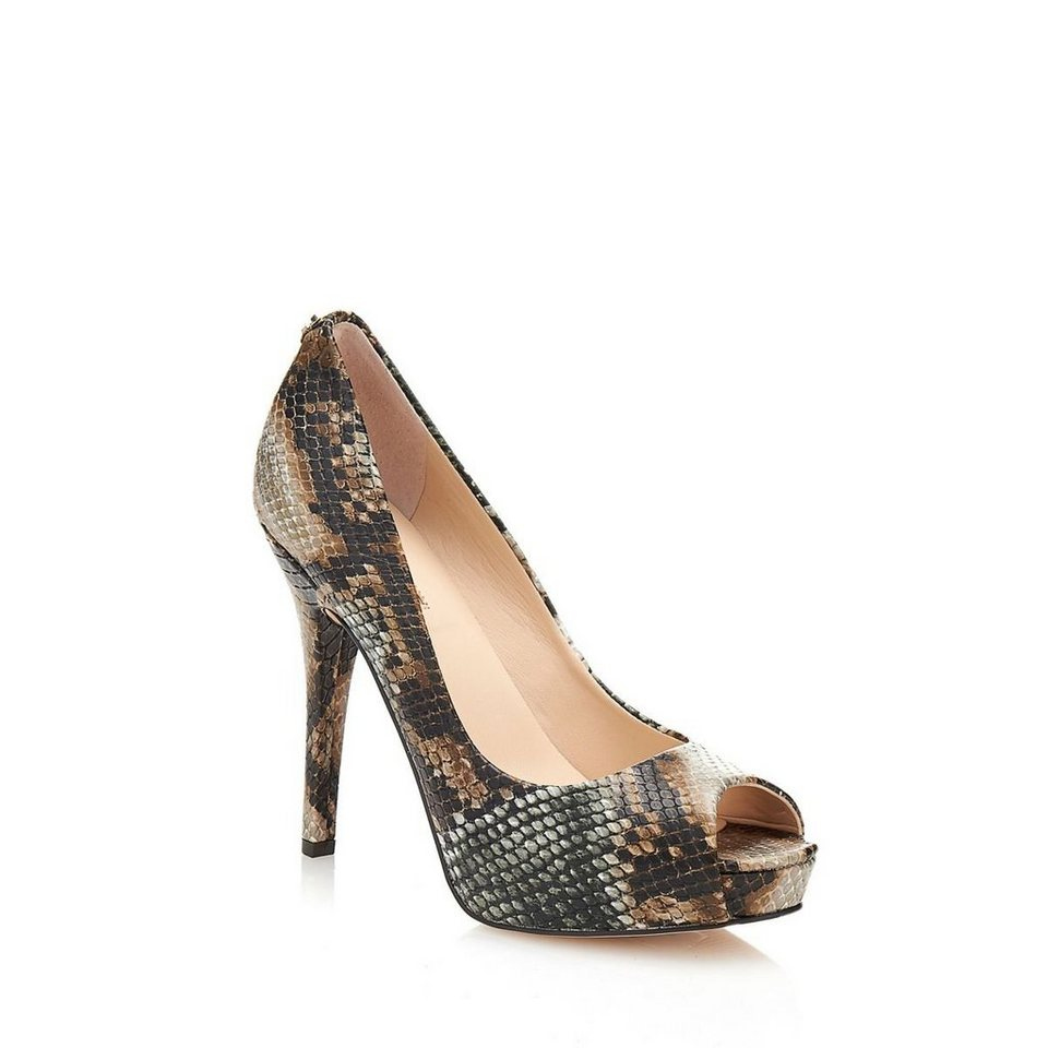 Guess PEEPTOE HEDDY2 ANIMAL-OPTIK in Animalier