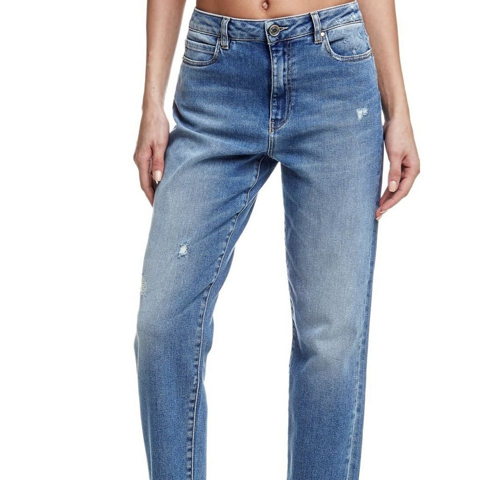 Guess BOYFRIEND-JEANS in Blau