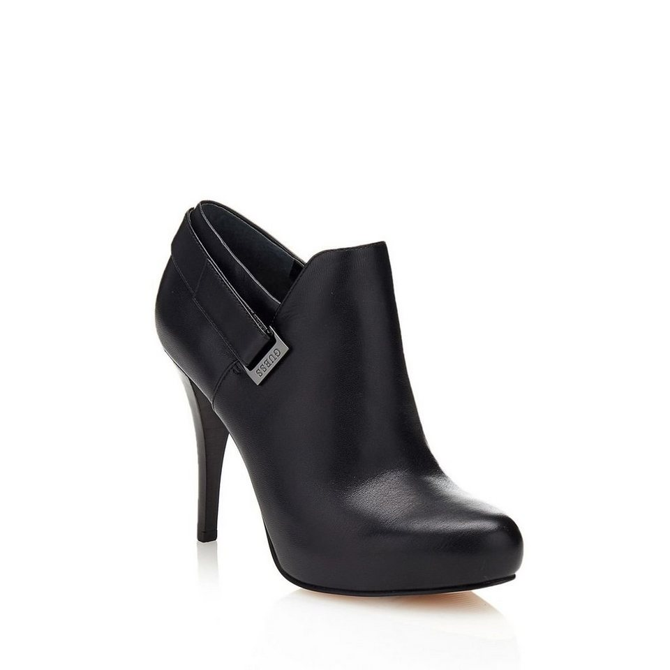 Guess ANKLE BOOT OWIM AUS LEDER in Noir