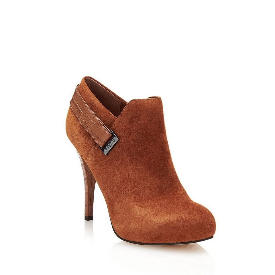 Guess ANKLE BOOT OWIM VELOURS in Rose