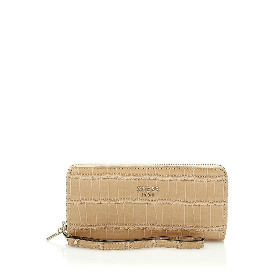 Guess PORTEMONNAIE CATE in Beige