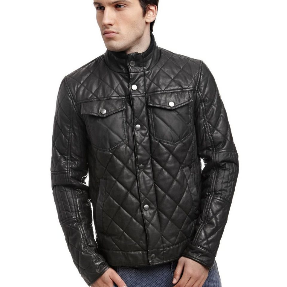 Guess STEPPJACKE in Schwarz