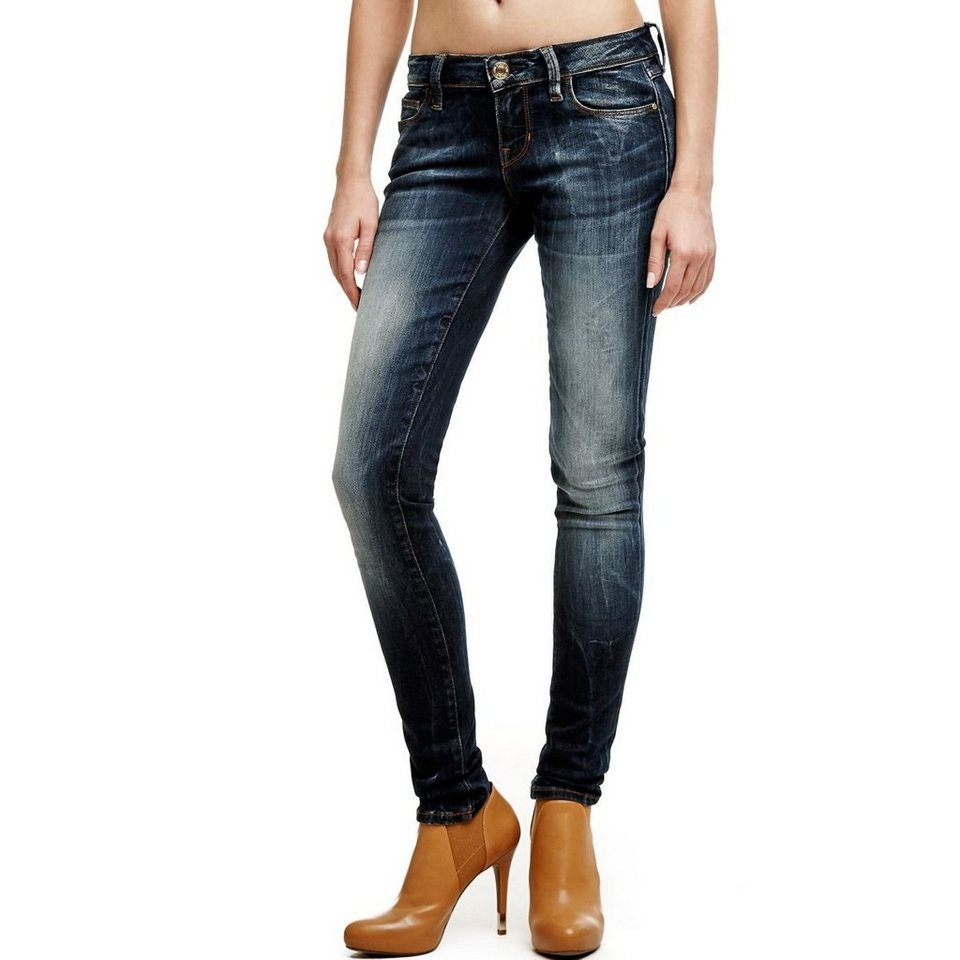 Guess JEANS SKINNY USED-OPTIK in Blau