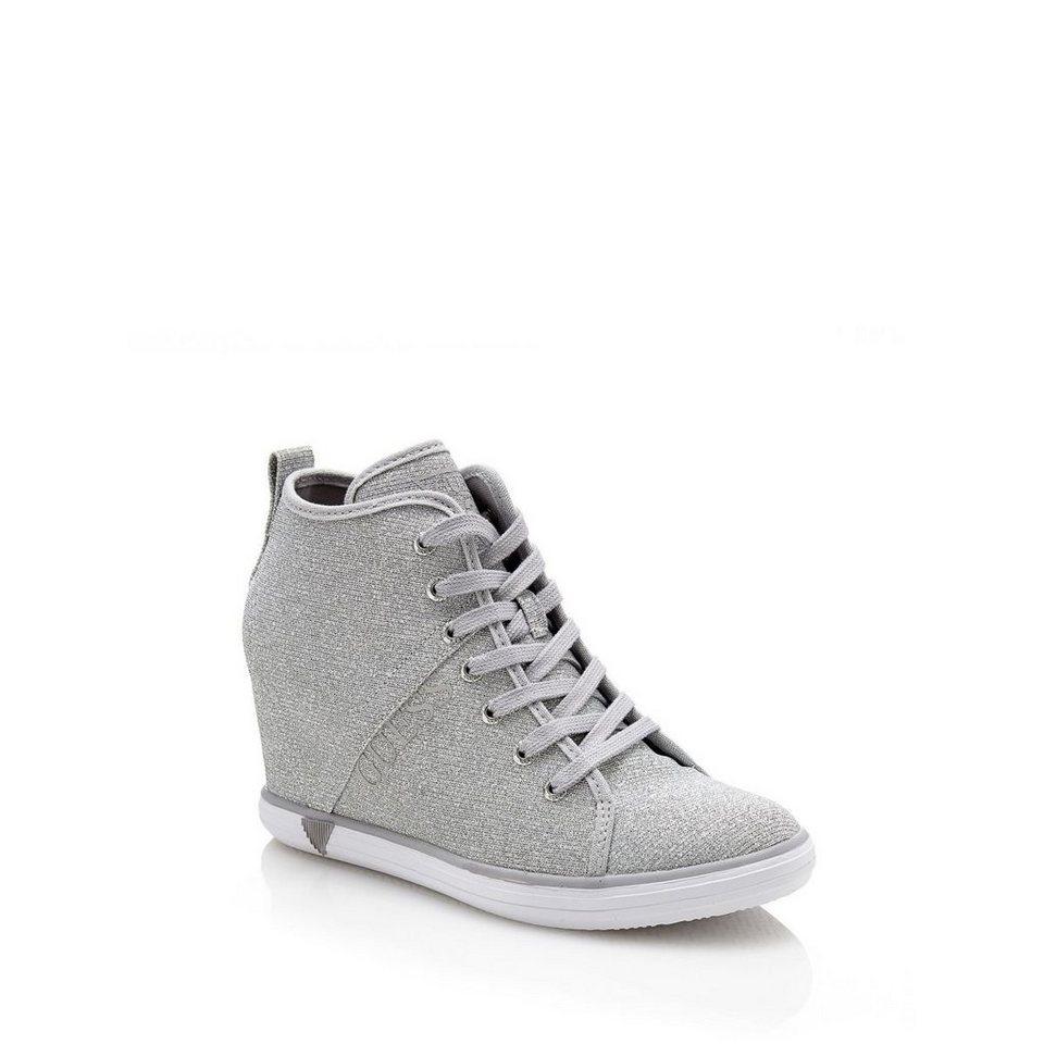 guess sneakerwedges jilly glitter online kaufen otto