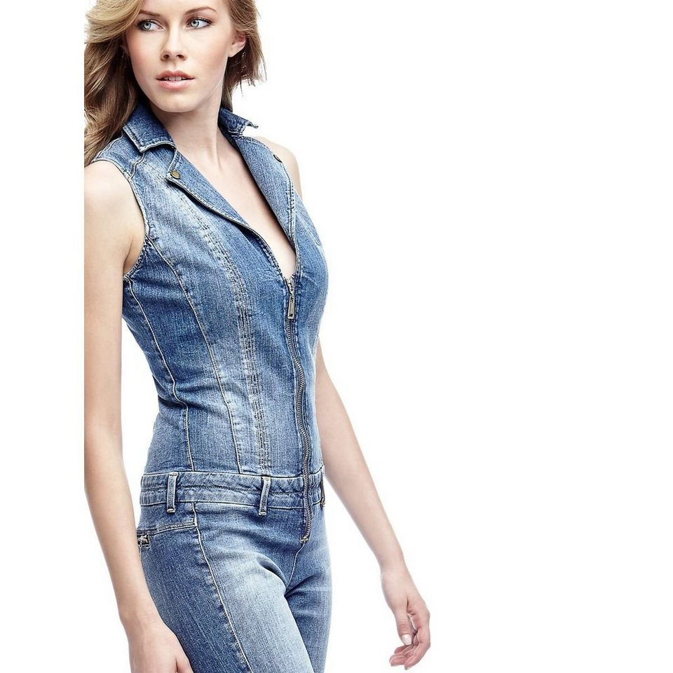 Guess JEANS-JUMPSUIT in Blau