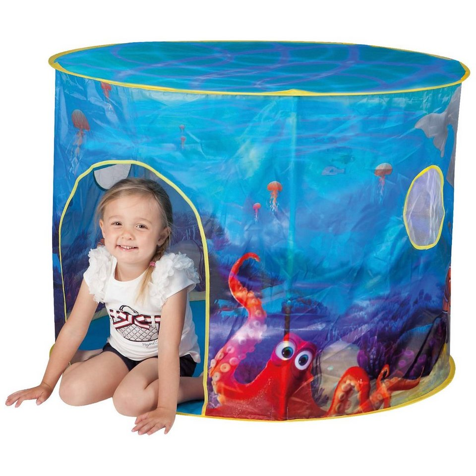 JOHN Pop-Up Spielzelt Aquarium Findet Dorie, mit Licht