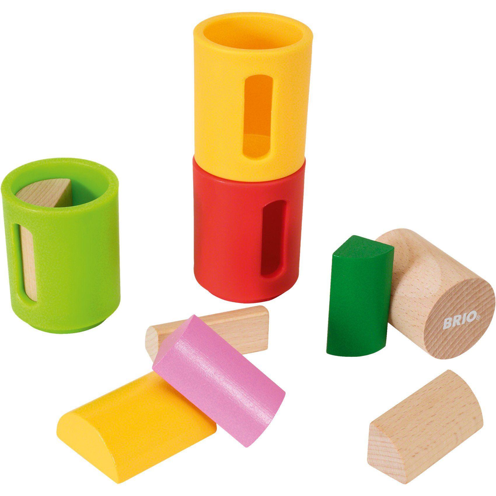 BRIO Sortierbare Holzbausteine
