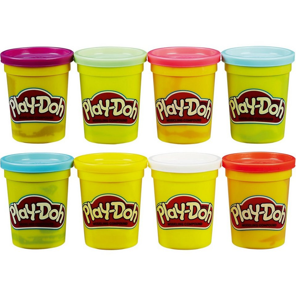 Hasbro Play-Doh 4+4 Aktionspack