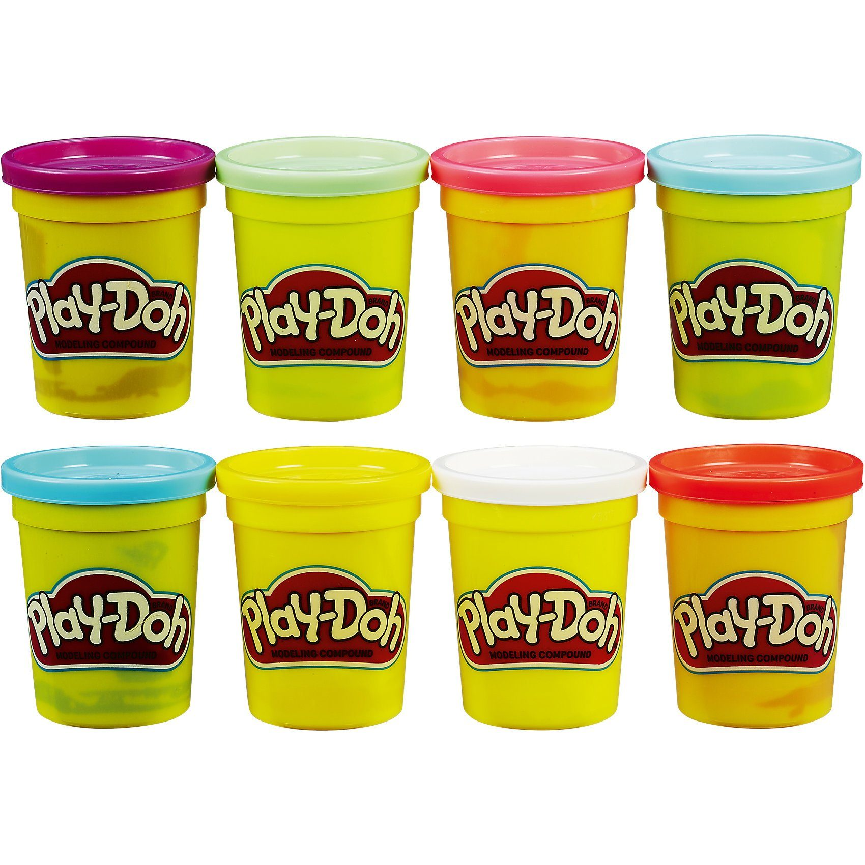 Hasbro Play-Doh 4+4 Aktionspack