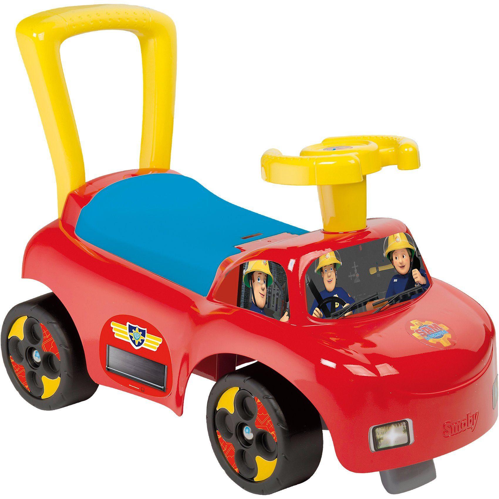 Smoby Fireman Sam Auto Rutscherfahrzeug