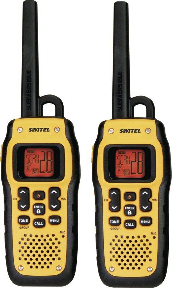 Switel PMR-Funkgeräte Set »WTF800« in schwarz