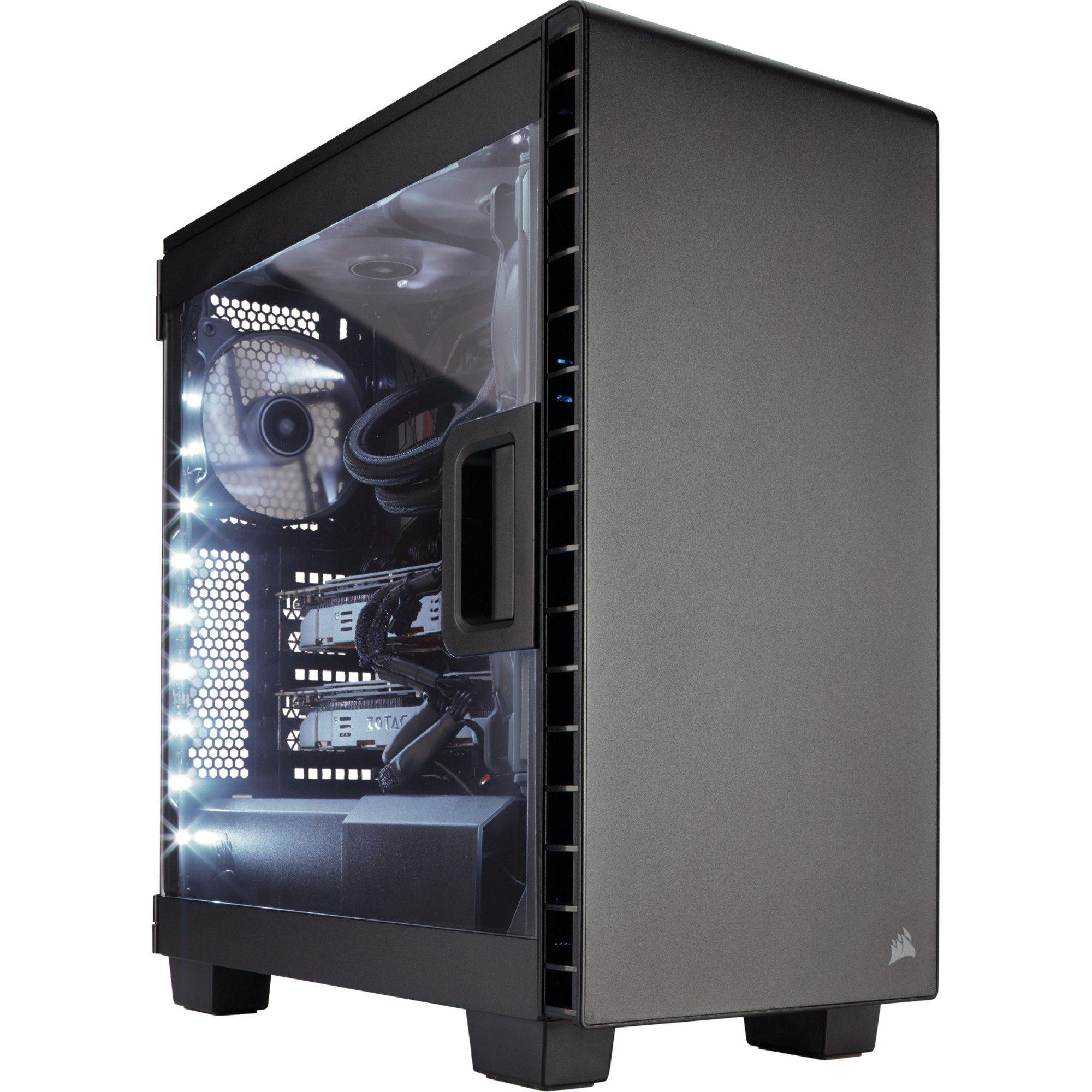 Corsair Tower-Gehäuse »Carbide Clear 400C«
