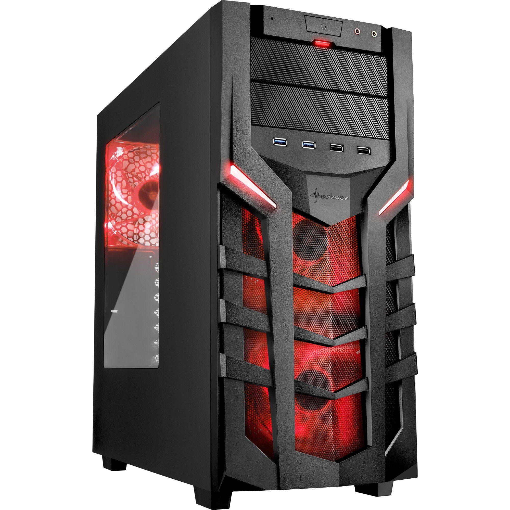 Sharkoon Tower-Gehäuse »DG7000 red«