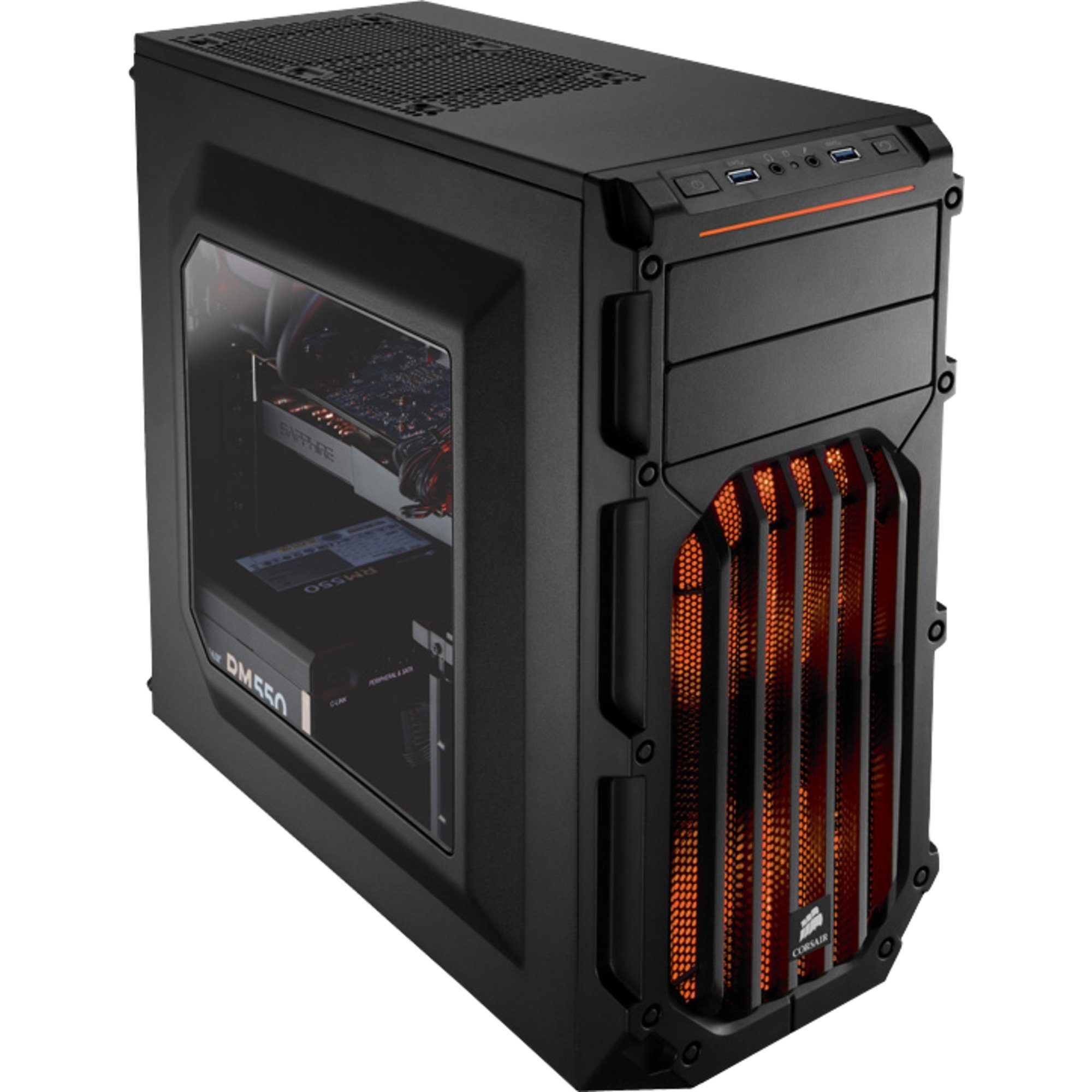 Corsair Tower-Gehäuse »SPEC-03 Orange LED«