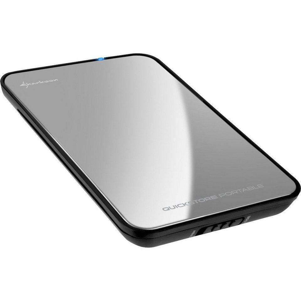 Sharkoon Laufwerksgehäuse »QuickStore portable USB3.0«