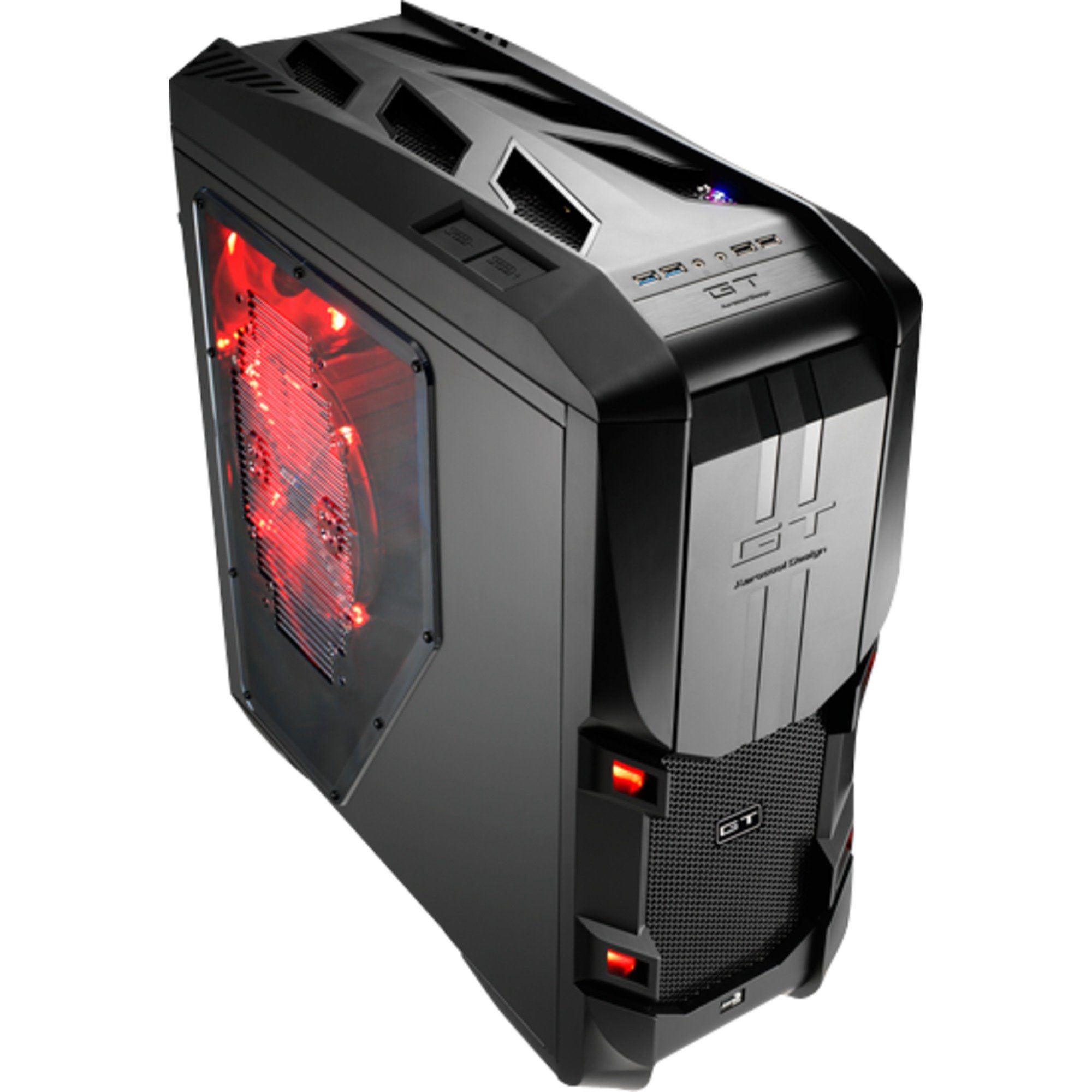 Aerocool Tower-Gehäuse »GT-S Black Edition«