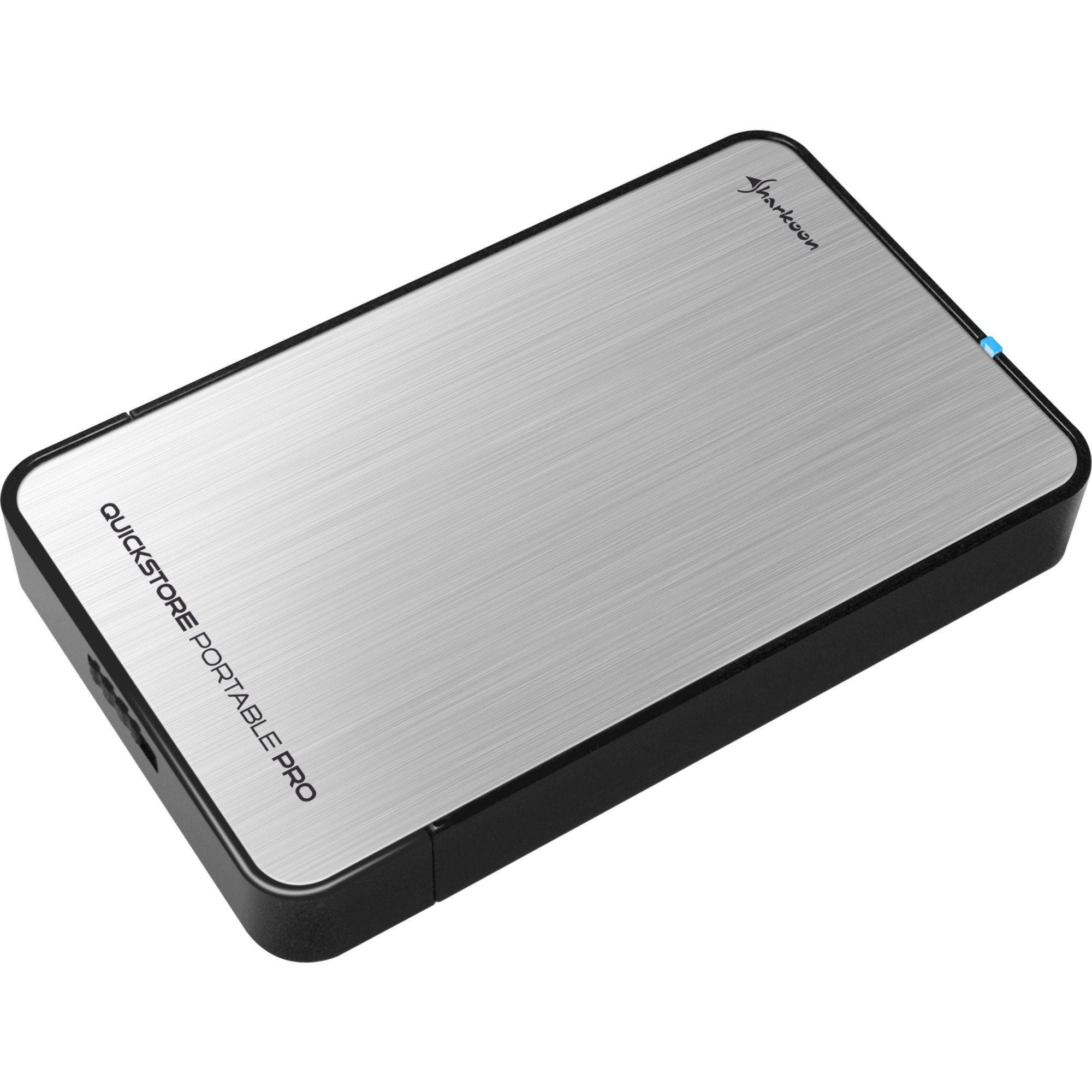 Sharkoon Laufwerksgehäuse »QuickStore Portable Pro USB3.0«
