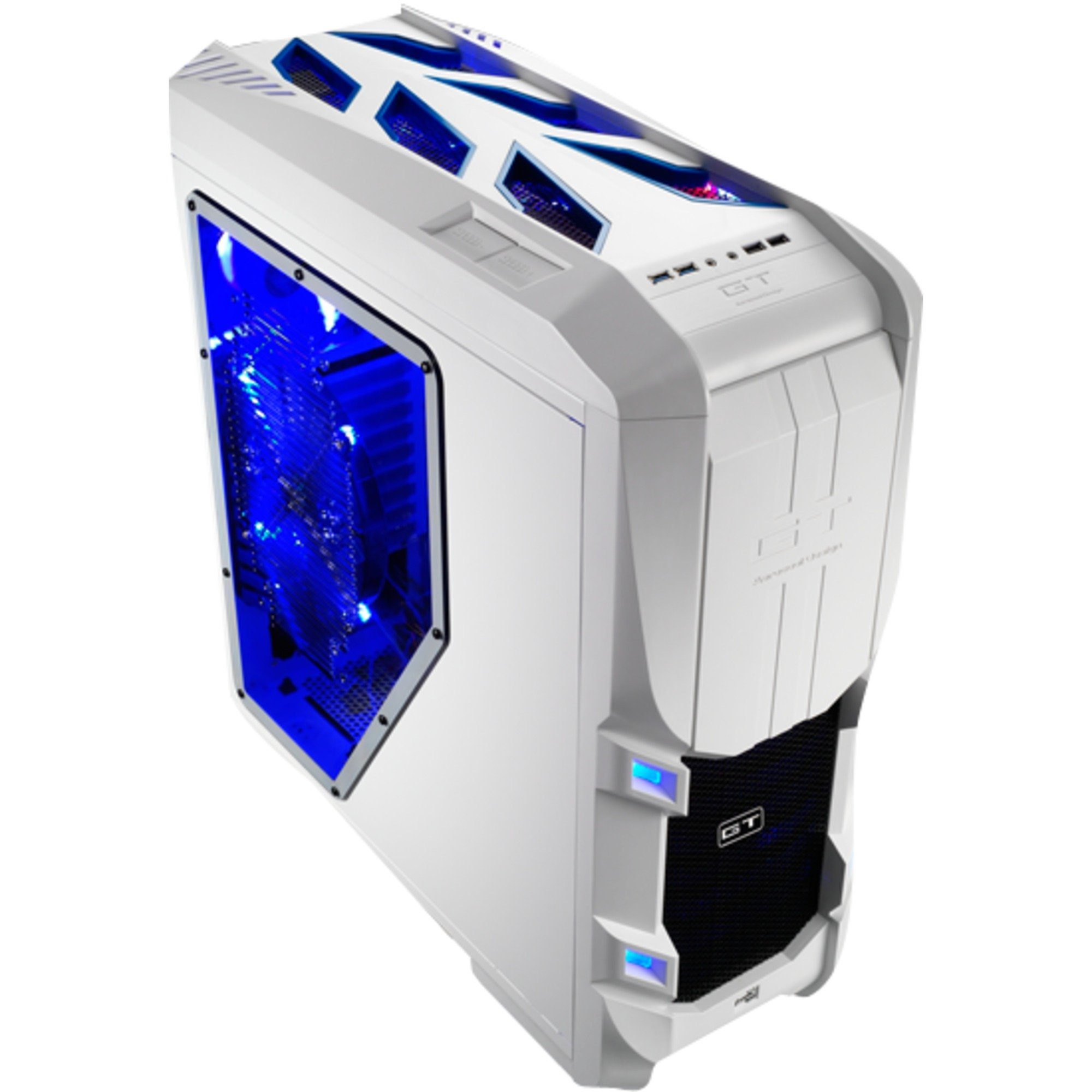 Aerocool Tower-Gehäuse »GT-S White Edition«