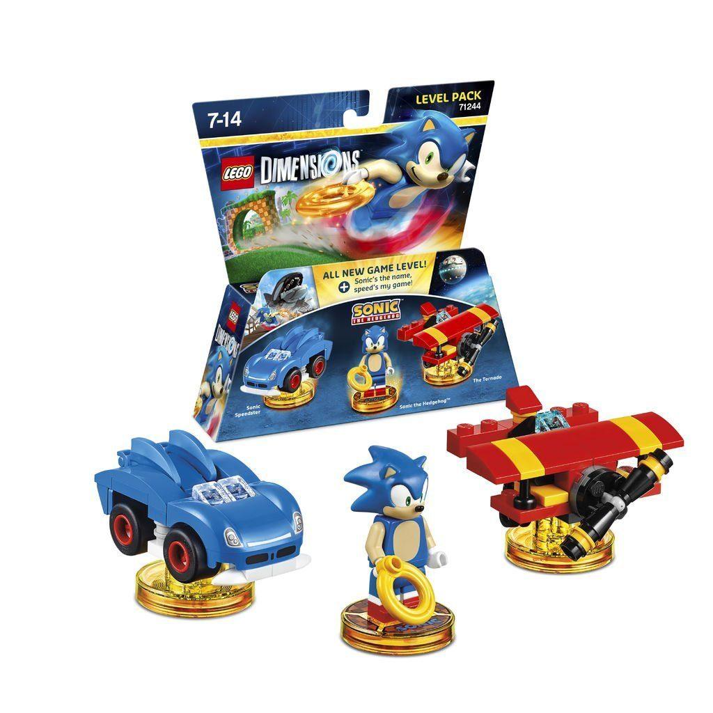 Warner Games Fanartikel »Lego Dimensions Level Pack - Sonic«
