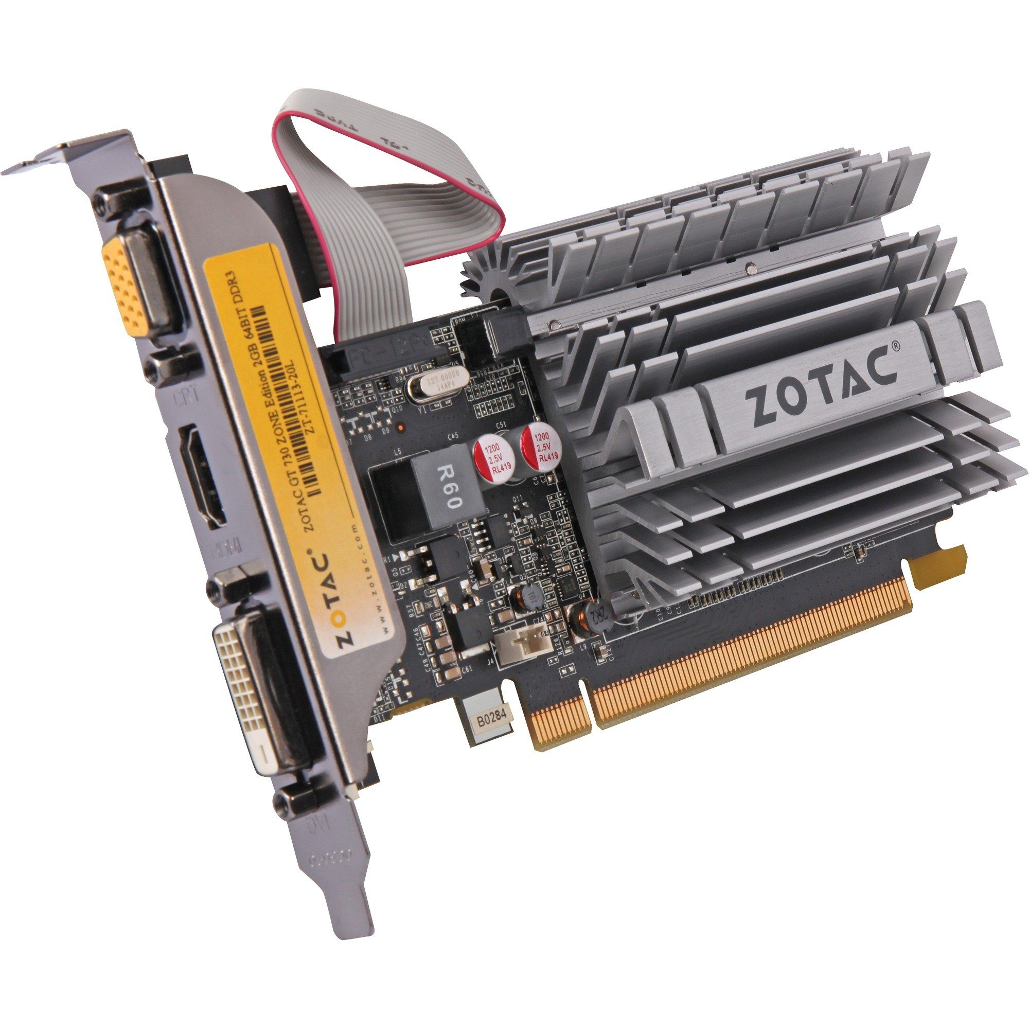 ZOTAC Grafikkarte »2GB GT730 ZONE«