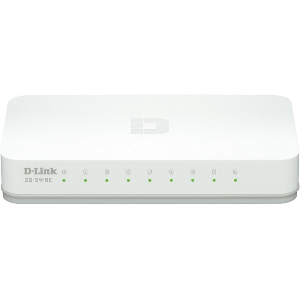 D-Link Switch »GO-SW-8E«
