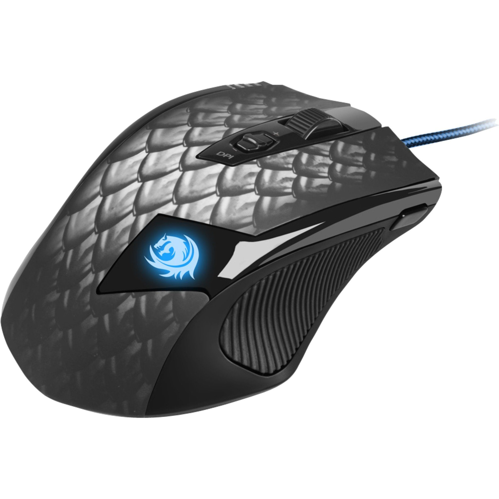 Sharkoon Maus »Drakonia Black Gaming Mouse«