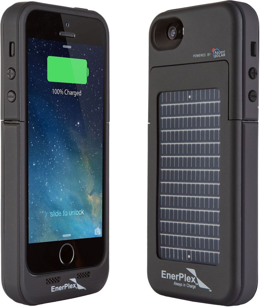 Enerplex Mobil Power »Surfr iPhone 5/5S/SE - Solarladecover«