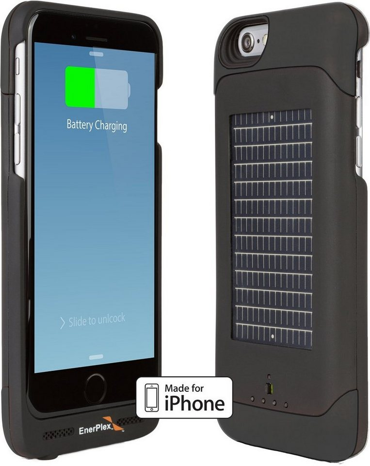 Enerplex Mobil Power »Surfr iPhone 6 - Solarcover incl. Powerpack« in Schwarz