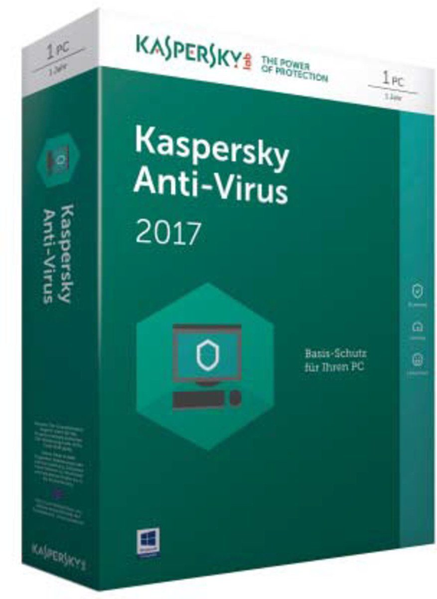 Kaspersky Sicherheits-Software »Anti-Virus 2017 Mini-Box 1 User«