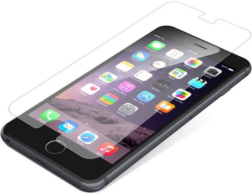 invisibleSHIELD Folie »GlassPlus Displayschutz für Apple iPhone 6/ 6S« in Transparent
