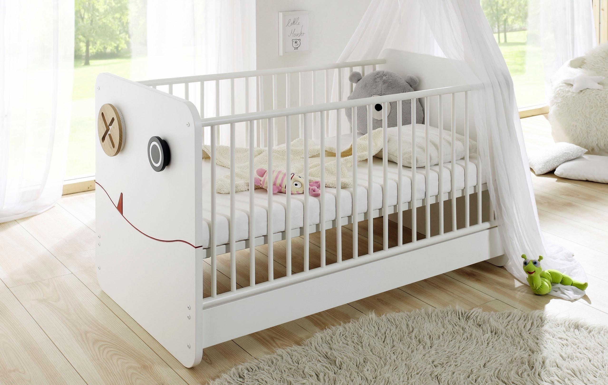 now! by hülsta Babybett »now! minimo«, umbaubar zum Juniorbett   Kinderzimmer > Babymöbel > Babybetten & Babywiegen   Holzwerkstoff   now! by hülsta