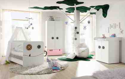 now! by hülsta Komplett Babyzimmer »now! minimo« (5-tlg)