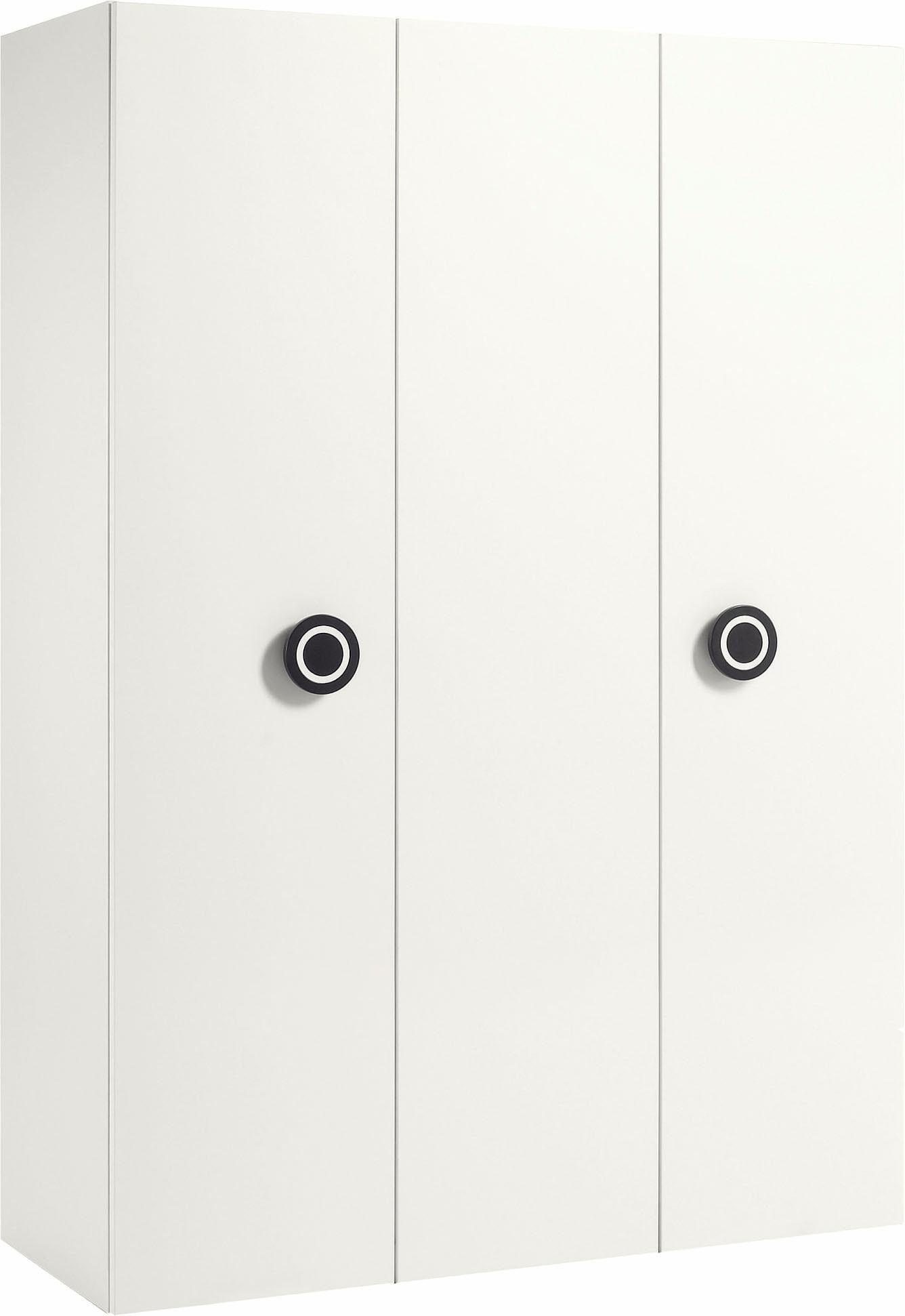 now! by hülsta Kleiderschrank »now! minimo« mit schwarzen Augengriffen