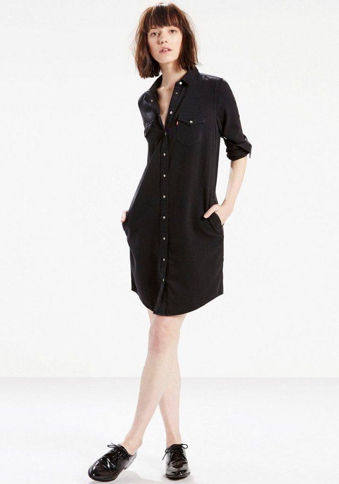 Levi's® Jeanskleid in schwarz