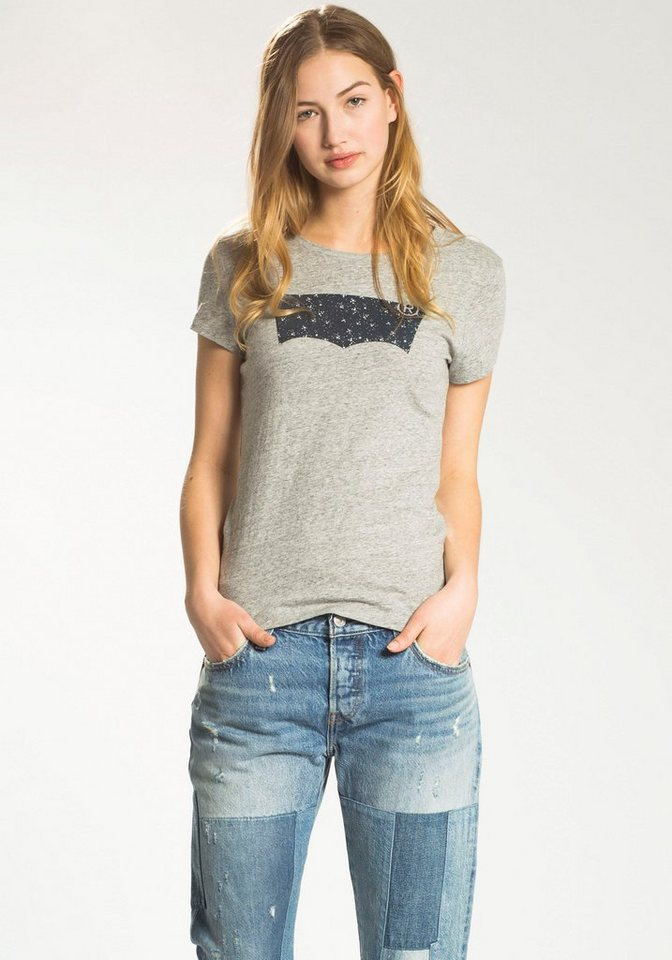 Levi's® T-Shirt in grau